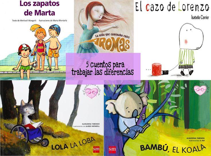 5 cuentos sobre cómo tratar las particularidades ideal para que los niños pequeños aprendan cómo gestionarlas de forma amena y de fácil comprensión