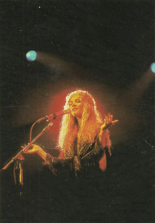 Beautiful shot. Stevie Nicks <3