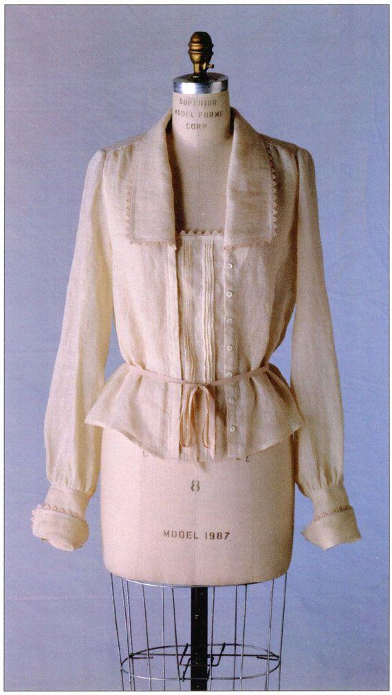 Folkwear Armistice Blouse Sewing Pattern by BonniesPatternShop