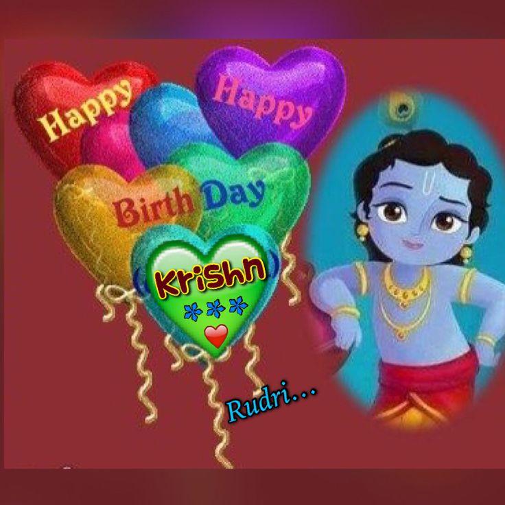 Happy birthday Krishna ❤️❤️❤️ Jai Shree Krishna _/_