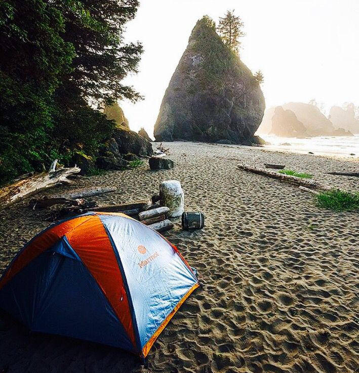 Point of Arches at Olympic National Park in Washington, USA