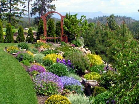 Image Detail For  Flower Gardens Backyard Landscape Designs Ideas