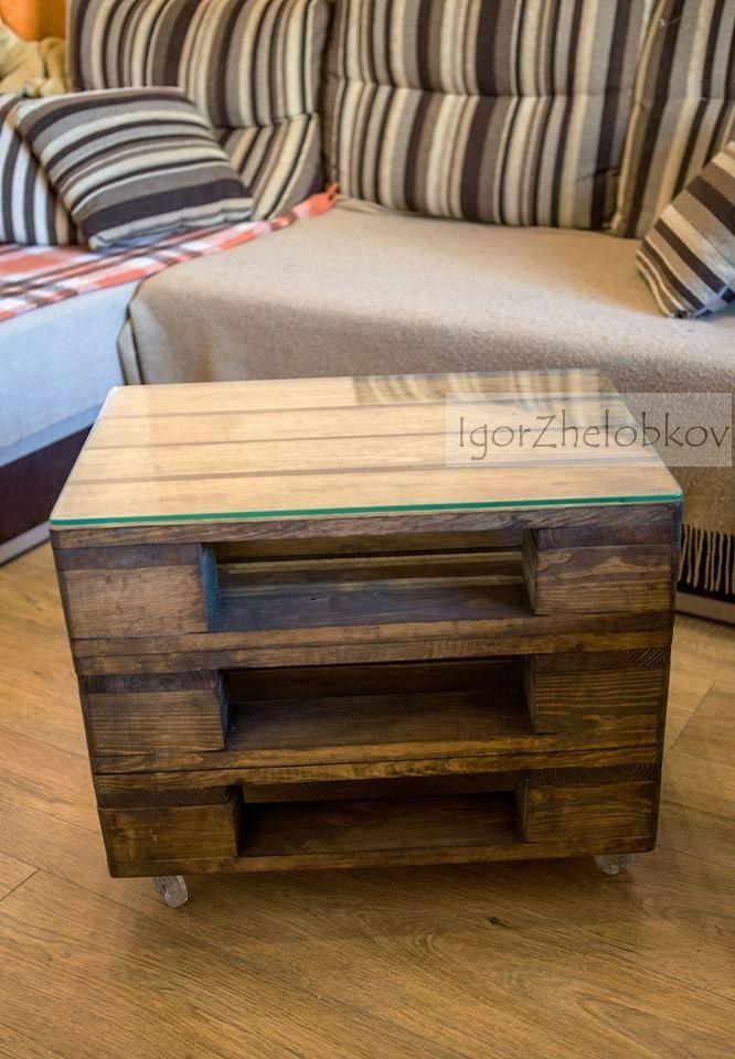 Столик для семьи фотографа.