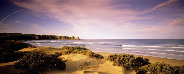 One of the glorious beaches on Phillip Island
