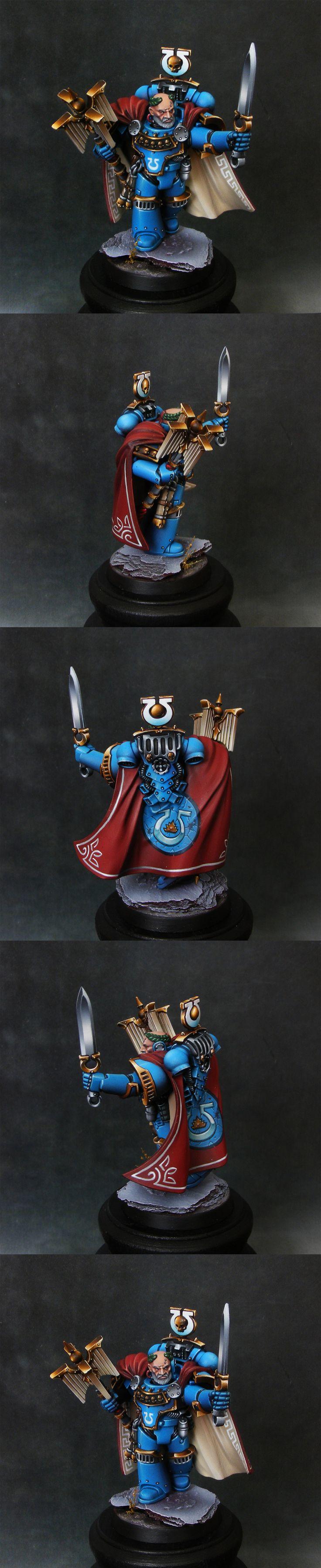 Ultramarine hero from Betrayal at Calth - dexterzg