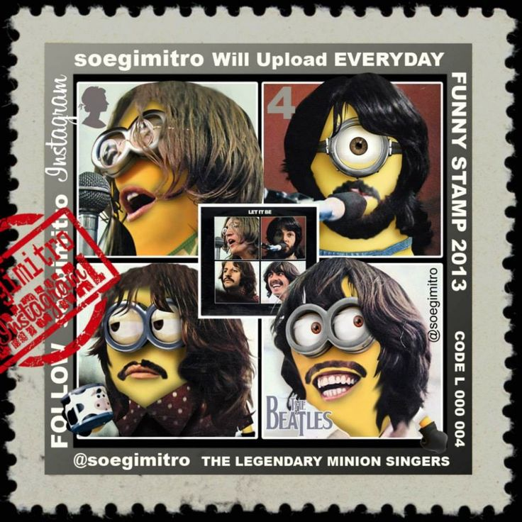 The Beatles Minions.