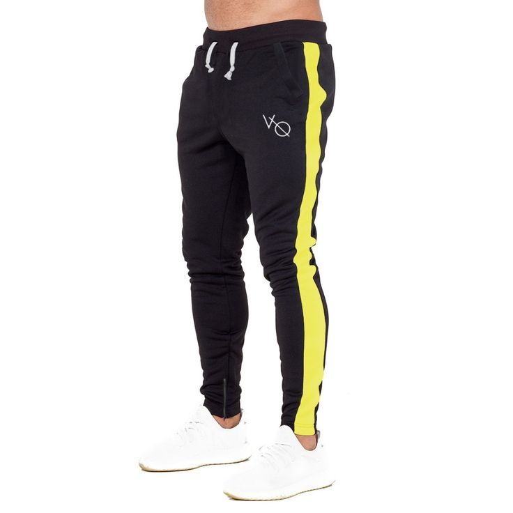 <b>2019 Gym Training Jogging</b> Pants Mens Joggers Slim Fit Soccer ...