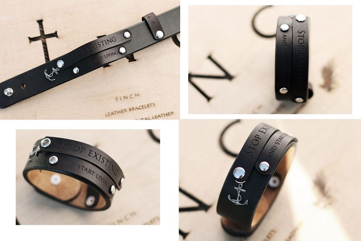 Meet F † n c h (vk.com/finchcraft) - a local brand for stylish people established following the goal to create something special, really beautiful and sensible. With top quality leather and solid accessories used for each handmade bracelet, F † n c h will truly become an unforgettable attribute of your style! WIN one of those tomorrow in a traditional prize draw at Fryday Afterwork: https://www.facebook.com/events/298756083595584/