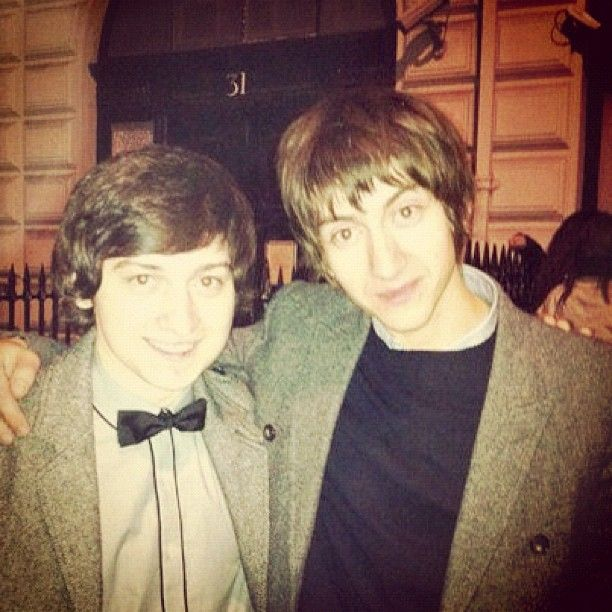 Photo by craigroberts10 • Instagram. Alex Turner and Craig Roberts. All of the beauty.