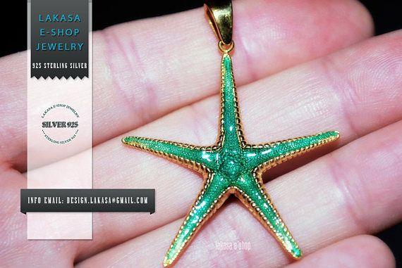 Sea Star Sterling Silver Gold plated Pendant Jewelry Love #seastar #sea #star #seastern #starfish #necklace #jewelry #silver #jewellery #gift #woman #moda #joyas #mujer #pendant #collection #gifts #holidays #best #idea #men #dream #memories #παιδι #μενταγιον #ασημι #γυναικα #δωρο #μητερα #αντρας #αστεριας #θαλλασα #καλοκαιρι #nature #inspiration #lakasaeshop