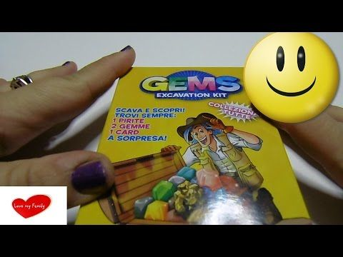 Gems excavation kit - Dr. Steve Hunters