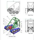 Personal Tracked Vehicle Go Kart Build Plans 68 pages