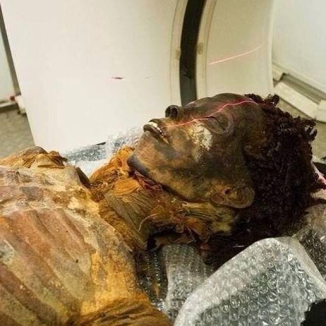Mummy Still Has Natural Hair