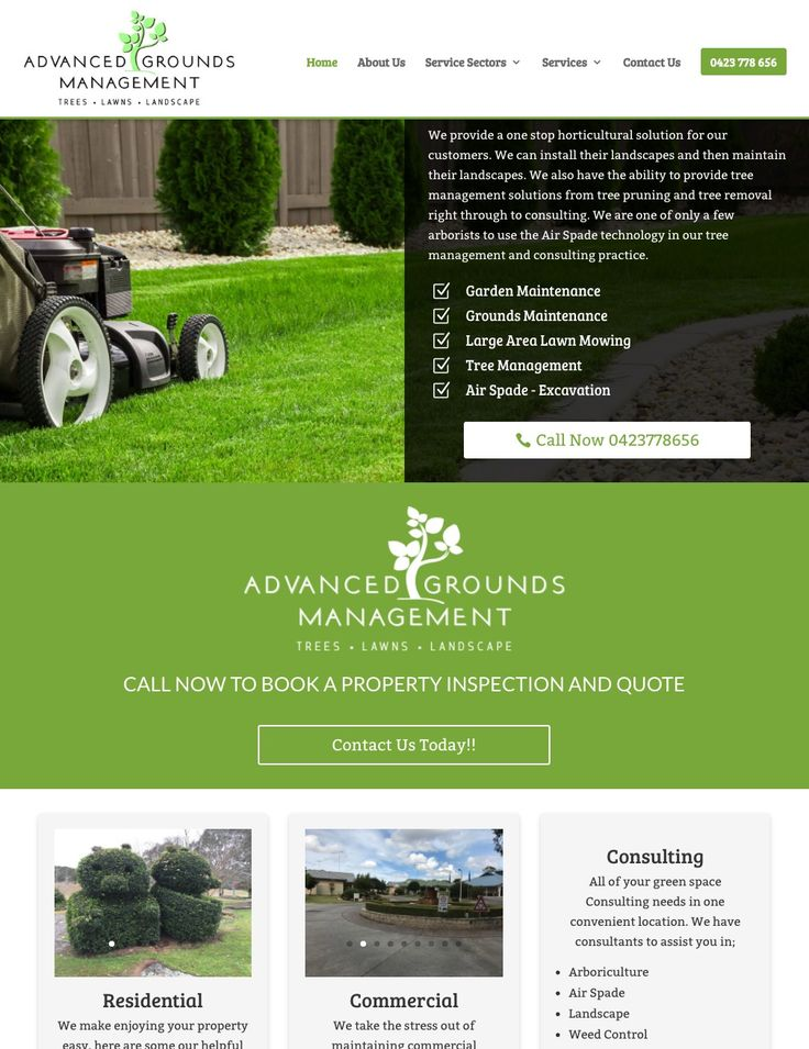 Advanced Grounds management are a Sydney based horticultural company that specialises in landscaping and tree management
