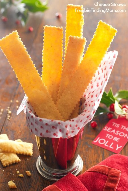 Recipe for Cheese Straws - This yummy holiday treat will not make you miss the dessert table one bit.