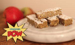 Apple & Banana Protein Bars (Vegan) - Protein Pow