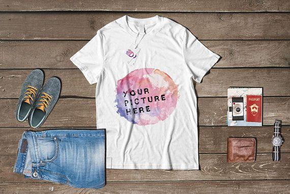 Download Free Shirt Mock Up White T Shirt Mockup U Etsy Psd Free Psd Mockups Clothing Mockup Shirt Mockup Mockup Free Psd
