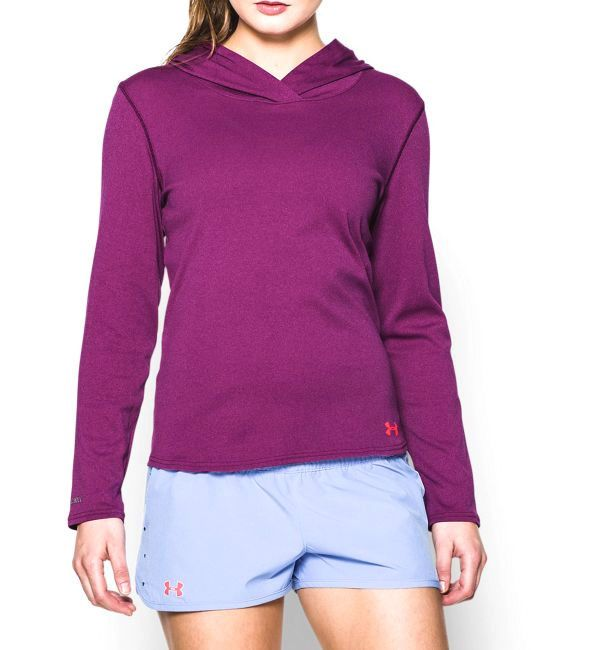 f396faef2a WOMENS UNDER ARMOUR ISO CHILL DAYS HOODIE SURF HYDRO SALT RESISTANT ...