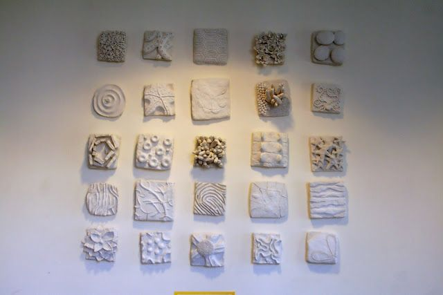 Dream. Pray. Create.: Lesson idea: Organically-inspired sculpture ceramic tiles
