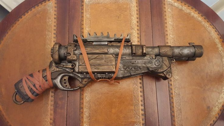 Cosplay prop. Steampunk / Wasteland gun - Nerf Barrel Break