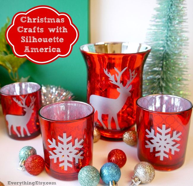 Christmas Crafts & Silhouette America {Black Friday Sale!}