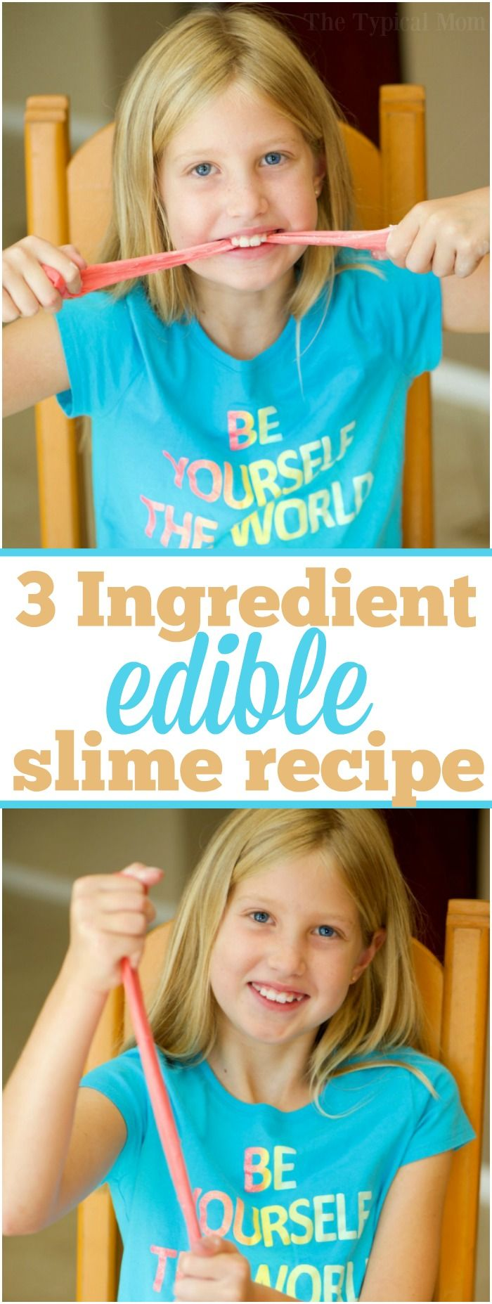 how to make slime out of kitchen ingredients