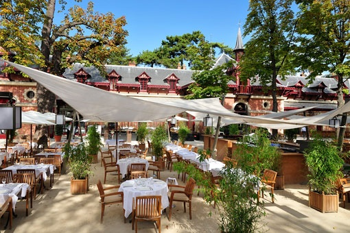 Romantic and beautiful restaurants terrasses Paris