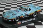 Revell-Monogram - 85-4864 - 1/32 Greenwood Corvette Mancuso RTR Slot Car - lig blu #76(slot car)