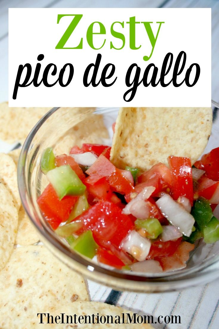 I love pico de gallo, but I am a busy woman and it's gotta be frugal, quick & easy. This one has a shortcut with a huge punch of flavor. via @www.pinterest.com/JenRoskamp