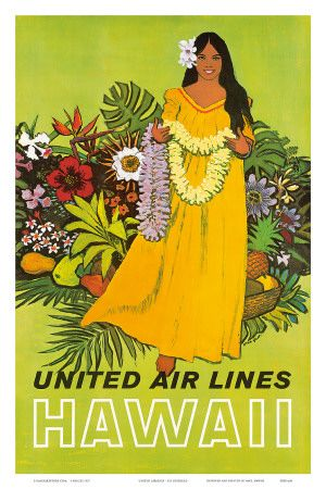 United Air Lines Hawaii