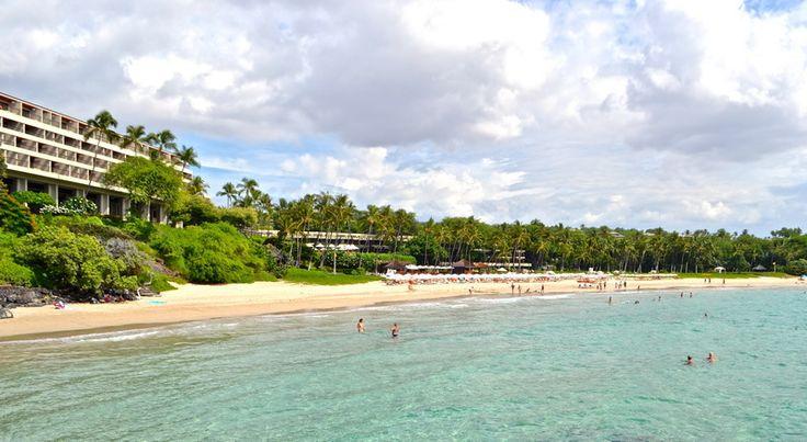 Kauna'oa Bay. Hawaii