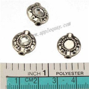 Zinc Alloy Round Flat Beads,Rhinestones Setting,Plated,Cadmium And Lead Free,Various Color For Choice,Approx 14*13*4.5mm,Hole:Approx 2mm,Sold By Bags,No 010071  Unit Price:USD 0.05 MOQ:450 pcs Email: lichunjuan1@sina.com