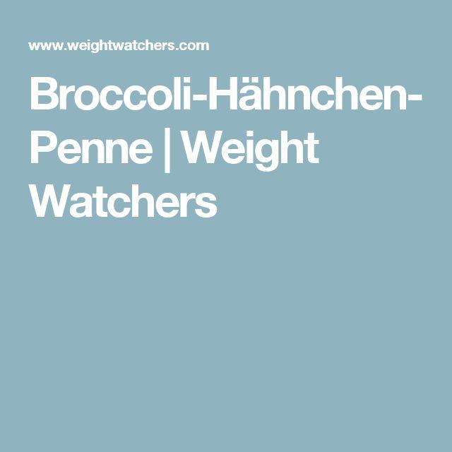 Broccoli-Hähnchen-Penne | Weight Watchers