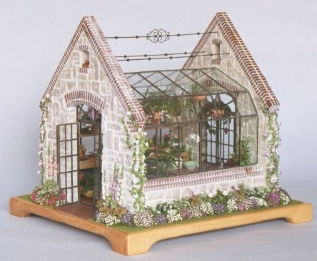 English Greenhouse by Linda Young of Lady Jane