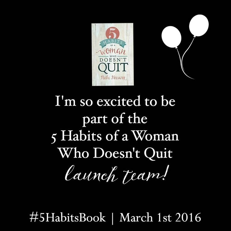 Woohoo! #5HabitsBook is gonna change lives and rock my world!