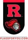 Applique Rutgers University Garden Flag