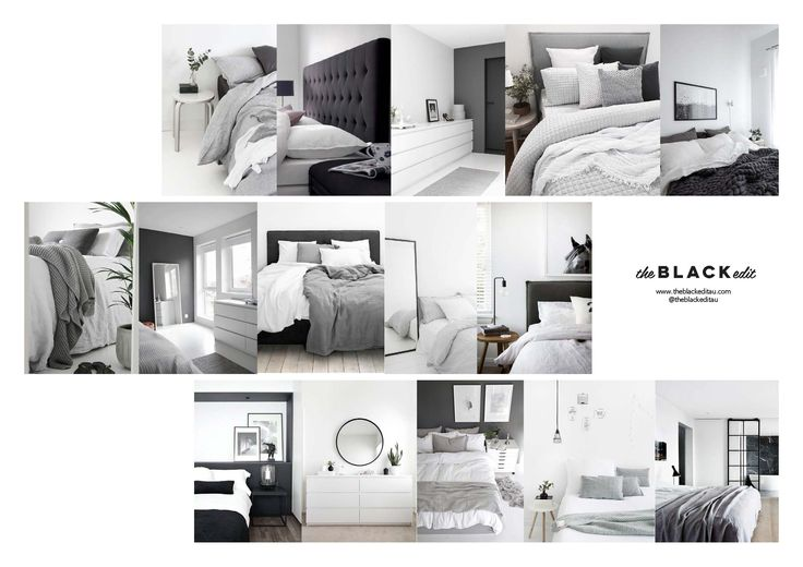 Bedroom Makeover Mood Board (Colour Story / Inspo)