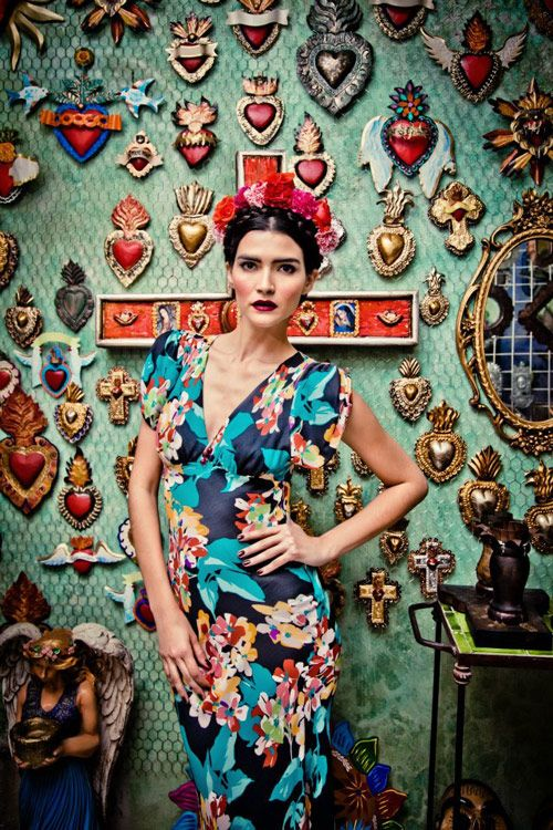❀ Flower Maiden Fantasy ❀ beautiful art  fashion photography of women and flowers - Lena Hoschek – Viva México