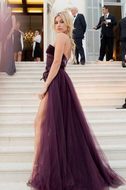 Hailey Baldwin | amfAR Gala 2017 Dresses | British Vogue