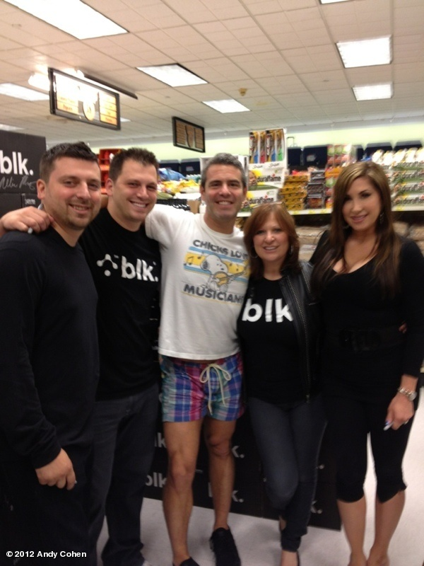Andy Cohen in a Snoopy t-shirt