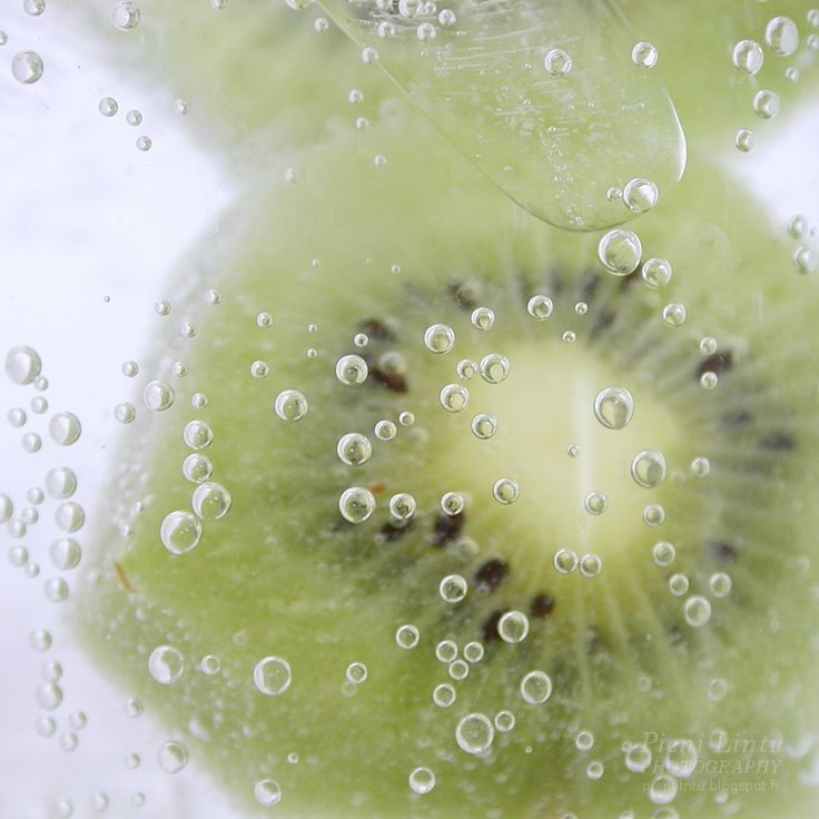 Bubbles and kiwi