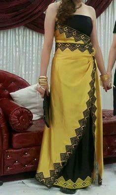 Kabyle Dress Algeria #algeriantraditionaldresses #Algérie #الجزائر #Algeria