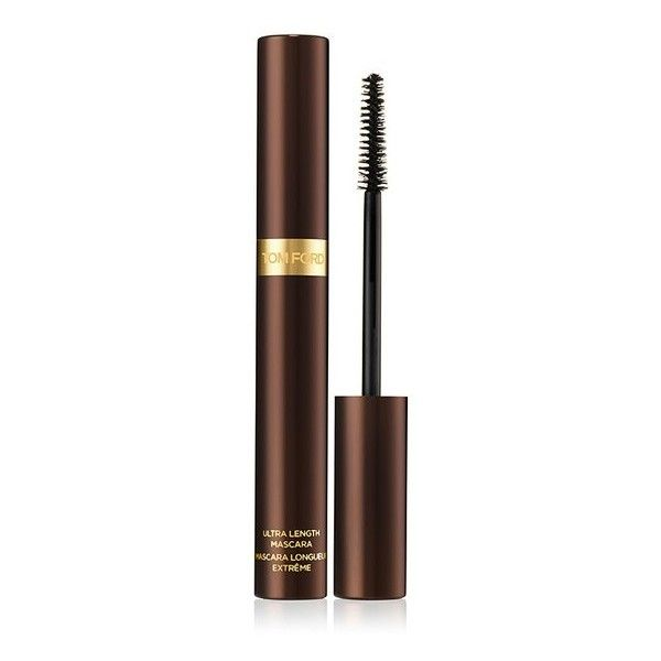 Tom Ford Beauty Ultra Length Mascara Fall 2013 ($45) ❤ liked on Polyvore featuring beauty products, makeup, eye makeup, mascara, beauty, black, tom ford, tom ford eye makeup and lengthening mascara