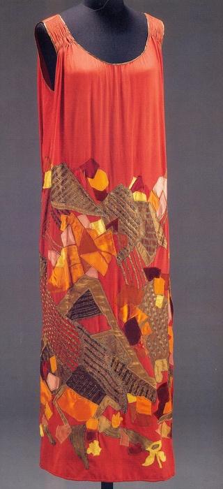 Dress by Natalia Goncharova, 1924