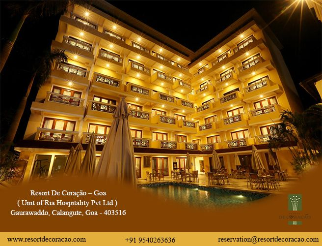 Enjoy A Luxurious Vacation At Affordable Prices In Goa Resort Goa Luxury Vacation