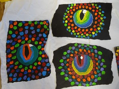 """Let me say up-front: I did not invent this project! Renee Lentz posted pics of her student work in the Facebook Art Teacher group, and I asked if I could """"steal"""" the idea (she said yes!) for my Drag"""