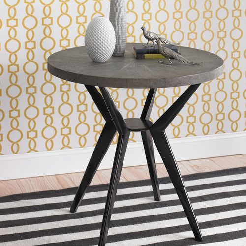 Our FAVES, on sale!     Odin Side Table in Grey Shagreen |  20% off thru 12/31