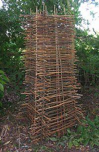 Structures Saule De Jardin Treillis Supports Pour Plantes Hautes Et Les Grimpeurs Verts