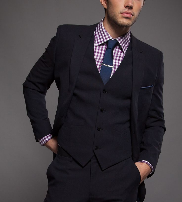 39 best it 39 s all about the suit images on pinterest mens for Navy suit gray shirt