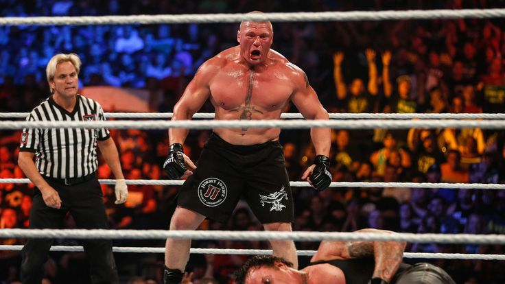 Brock Lesnar inducted into the Wrestling Observer Newsletter Hall of Fame